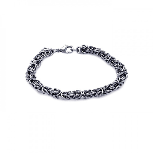 Chain Link Stainless Steel Bracelet