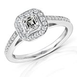 Asscher Cut Diamond Rings Image