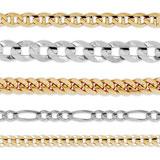 Silver & GoldChain Bracelets