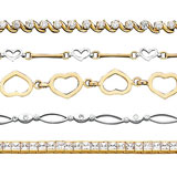 Fancy Gold Bracelets | Fancy Silver Bracelets