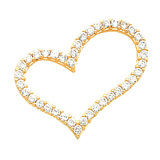 Cubic Zirconia Jewelry: CZ Pendants