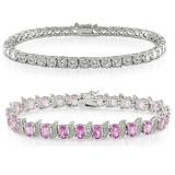 Cubic Zirconia Jewelry: CZ Bracelets