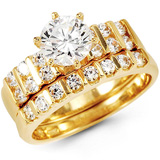 Cubic Zirconia Jewelry: CZ Rings