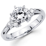 Round Cut Diamond Engagement Rings