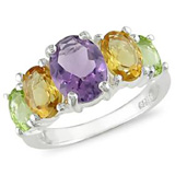 Gemstone Jewelry: Gemstone Rings