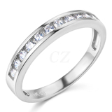 Cubic Zirconia CZ Wedding Bands