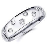Diamond Wedding Bands Image