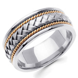 Hand Braided Wedding Bands