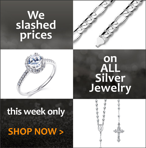 We slashed prices on all silver jewelry this week. Shop Now >