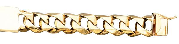 Gold Bracelets for Trendy Men