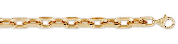 Men's gold necklaces