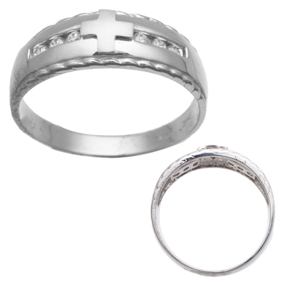 Palladium Mens Wedding Bands on Mens White Gold Cz Wedding Bands   Titanium Wedding Bands