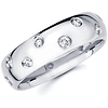 Starlight 6mm Round Diamond Eternity Wedding Band (0.35-0.40ctw)