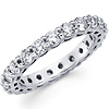 Shared Prong 14K White Gold Diamond Eternity Ring (1.71-1.98 ctw)