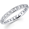 Diamond Eternity Ring in 14K White Gold (0.92-1.07 ctw)