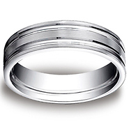whiteflash wedding bands satin rings and ring benchmark chambered