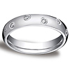 4mm Starlight Round Diamond Eternity Ring in Platinum by Benchmark 0.24ctw