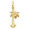 Mini Palm Tree Charm