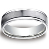 6mm Platinum Comfort Fit Band