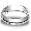 6mm Cobaltchrome Classic High Polished  Wedding Band