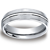 6mm Polished Trim Satin-Finished Cobaltchrome Wedding Band