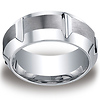 10mm Satin Cobaltchrome High Polished Groove & Beveled Edge Ring