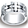 10mm Cobaltchrome Celtic Cross Satin Comfort-Fit Ring