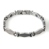 Fancy Diamond Design Tungsten Bracelet