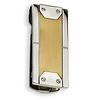 Stainless Steel 24K Gold Plated Brushed Money Clip