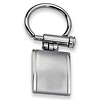 Stainless Steel Brushed & Polished Key Ring