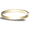 2mm Classic Light Comfort-Fit Dome Wedding Band - 10K, 14K Yellow Gold