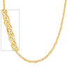 Women's 5mm Flexible Round Wired 14K Yellow Gold Necklace