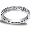 3mm Platinum Channel Diamond Eternity Ring (Size 4)