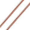 Men's 10mm 14K Rose Gold Miami Cuban Link Chain