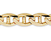 8mm 14K Yellow Gold Mariner Link Chain Bracelet 8.5in thumb 1