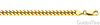 4mm 14K Yellow Gold Men's Miami Cuban Link Chain Necklace 20-30in thumb 1