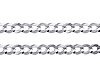 3.5mm Sterling Silver Curb Cuban Link Chain Bracelet 7in thumb 1