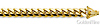 8.5mm 14K Yellow Gold Men's Miami Cuban Link Chain Necklace 24-26in thumb 1
