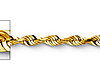 2.5mm 14K Yellow Gold Diamond-Cut Rope Chain Necklace 16-24in thumb 1