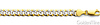 6mm 14K Two Tone Gold Men's White Pave Curb Cuban Link Chain Necklace 20-26in thumb 1
