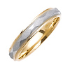 4mm Faceted Milgrain Wedding Band thumb 1