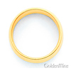 8mm Classic Light Comfort-Fit Dome Men's Wedding Band - 10K, 14K, 18K Yellow Gold thumb 2