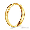 4mm Classic Light Comfort-Fit Dome Milgrain Wedding Band - 10K, 14K, 18K Yellow Gold thumb 2