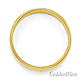 6mm Classic Light Dome Milgrain Wedding Band - 14K Yellow Gold thumb 2