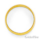5mm Classic Light Dome Wedding Band - 14K Yellow Gold thumb 2