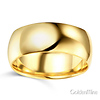 8mm Classic Light Dome Men's Wedding Band - 14K Yellow Gold thumb 1