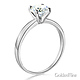 1-CT 4-Prong Round-Cut Solitaire CZ Engagement Ring in 14K White Gold thumb 1